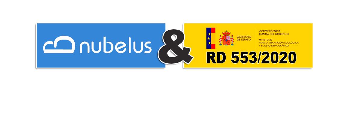 Nubelus Waster se ajusta al RD553/2020
