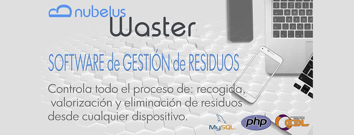 WASTER: Todo el proceso de Gestión de Residuos integrado en un solo software